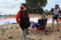 Parapente 23/05/15 - Association Elly (Salon de Provence 13300)